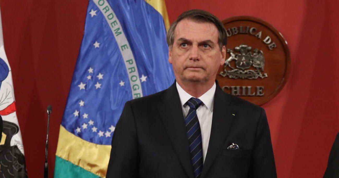 El mandatario no escatimó tampoco en insultos a Lula y a la izquierda brasileña. AGENCIA UNO/ARCHIVO