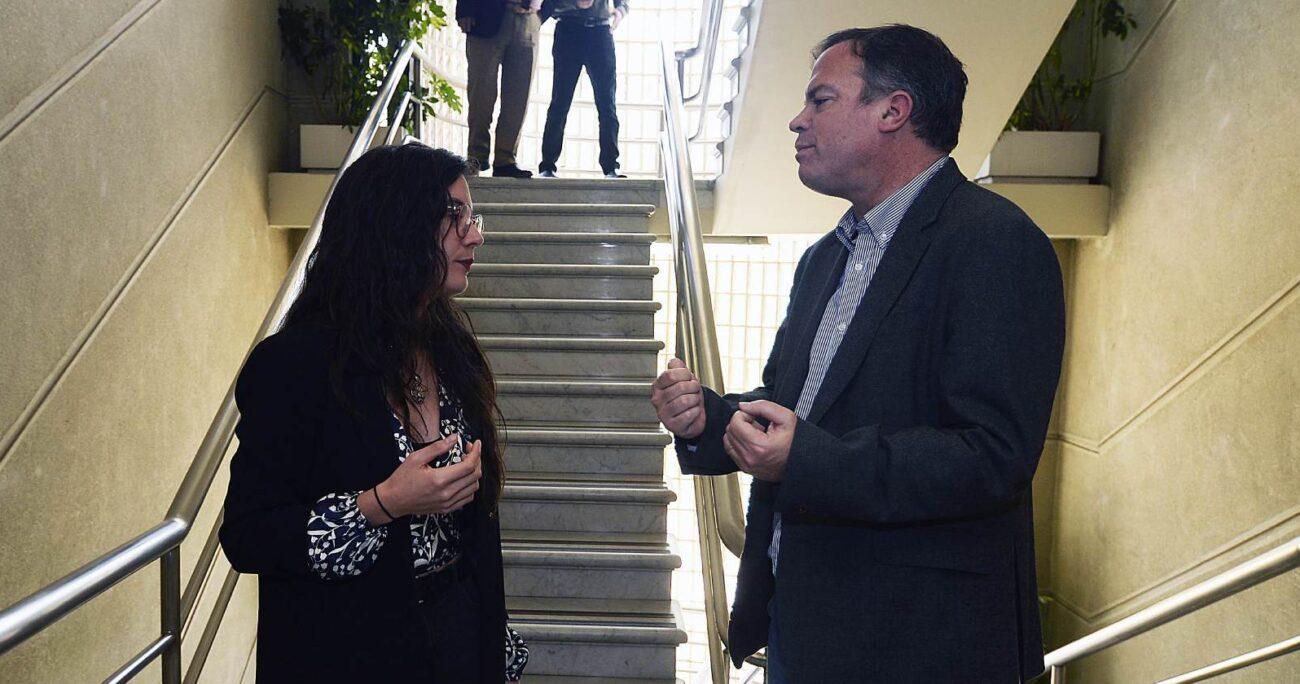 La iniciativa es impulsada por parte de la DC, Frente Amplio y el PC. AGENCIA UNO/ARCHIVO