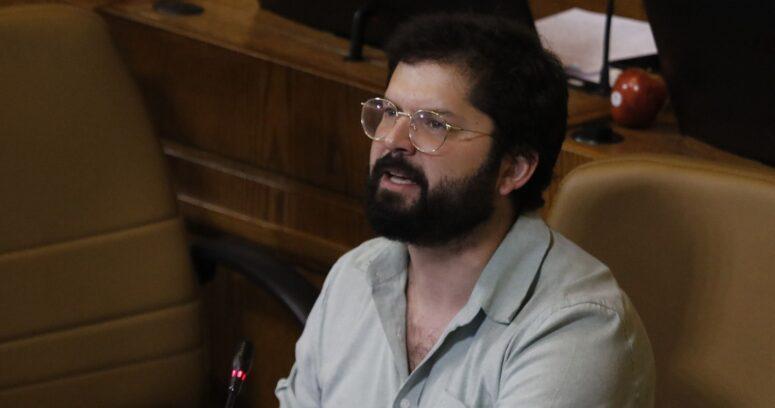 """""""Boric descarta plan B a candidatura presidencial:"""