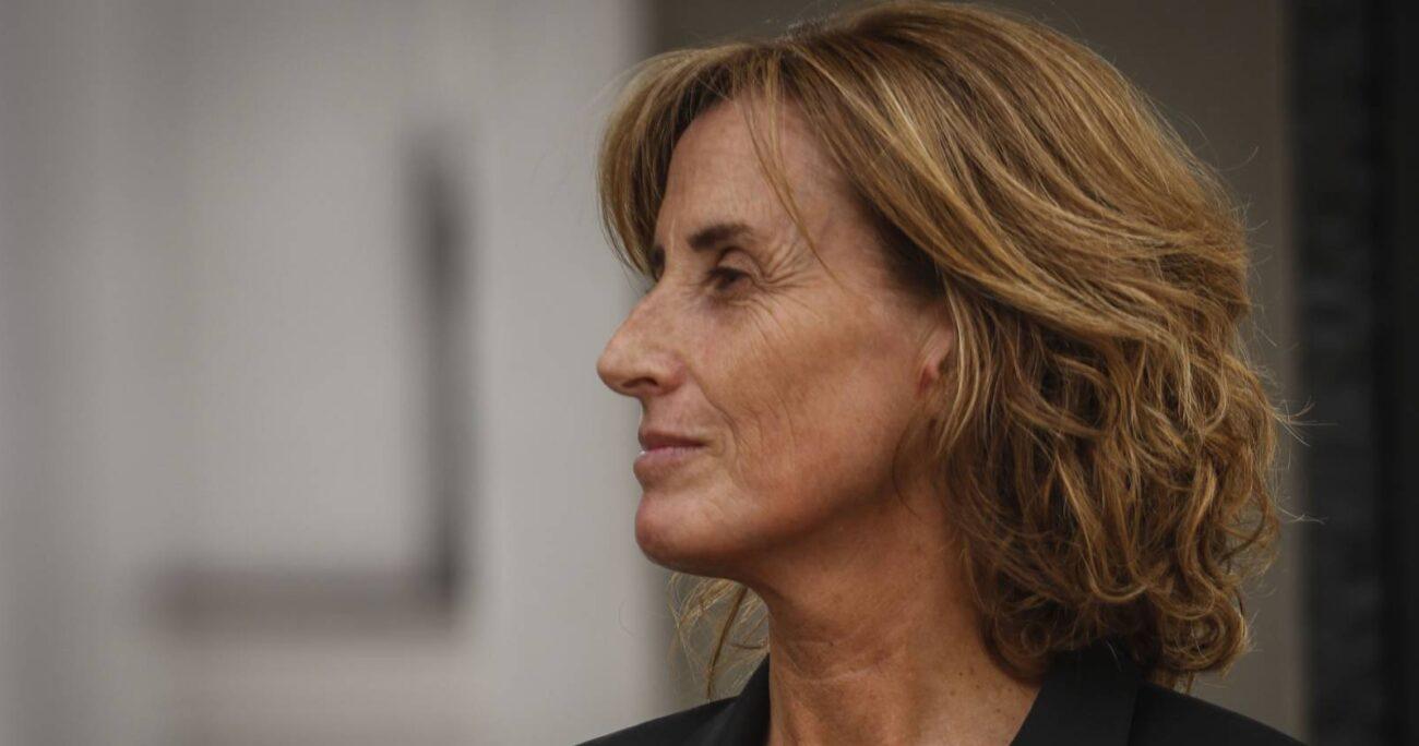 """Marcela Cubillos había representado la opción """"Rechazo"""" en el plebiscito. AGENCIA UNO/ARCHIVO"""