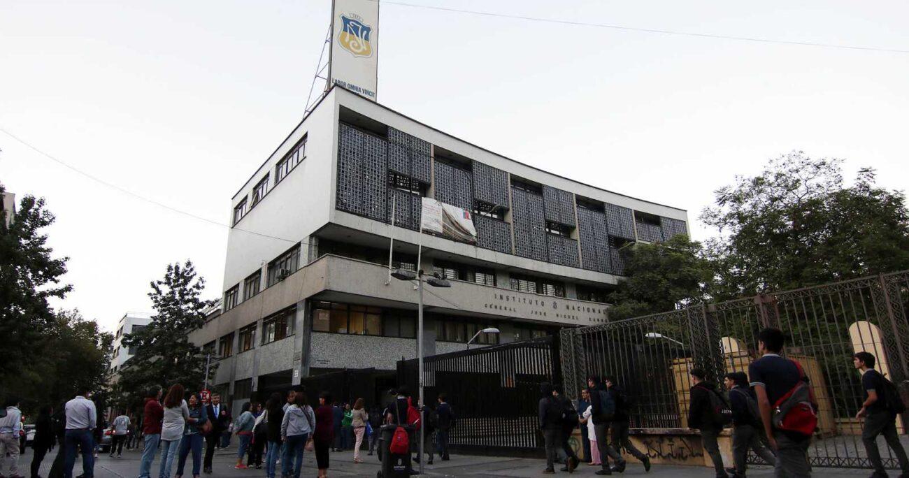El Instituto Nacional es uno de los establecimientos administrados por el municipio. AGENCIA UNO/ARCHIVO
