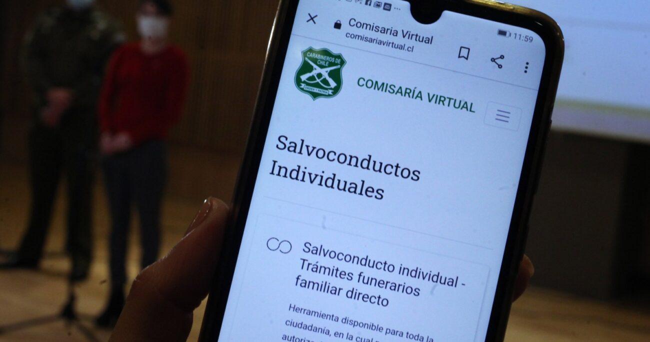 Carabineros recomendó programar los permisos de desplazamiento con anticipación. AGENCIA UNO/ARCHIVO