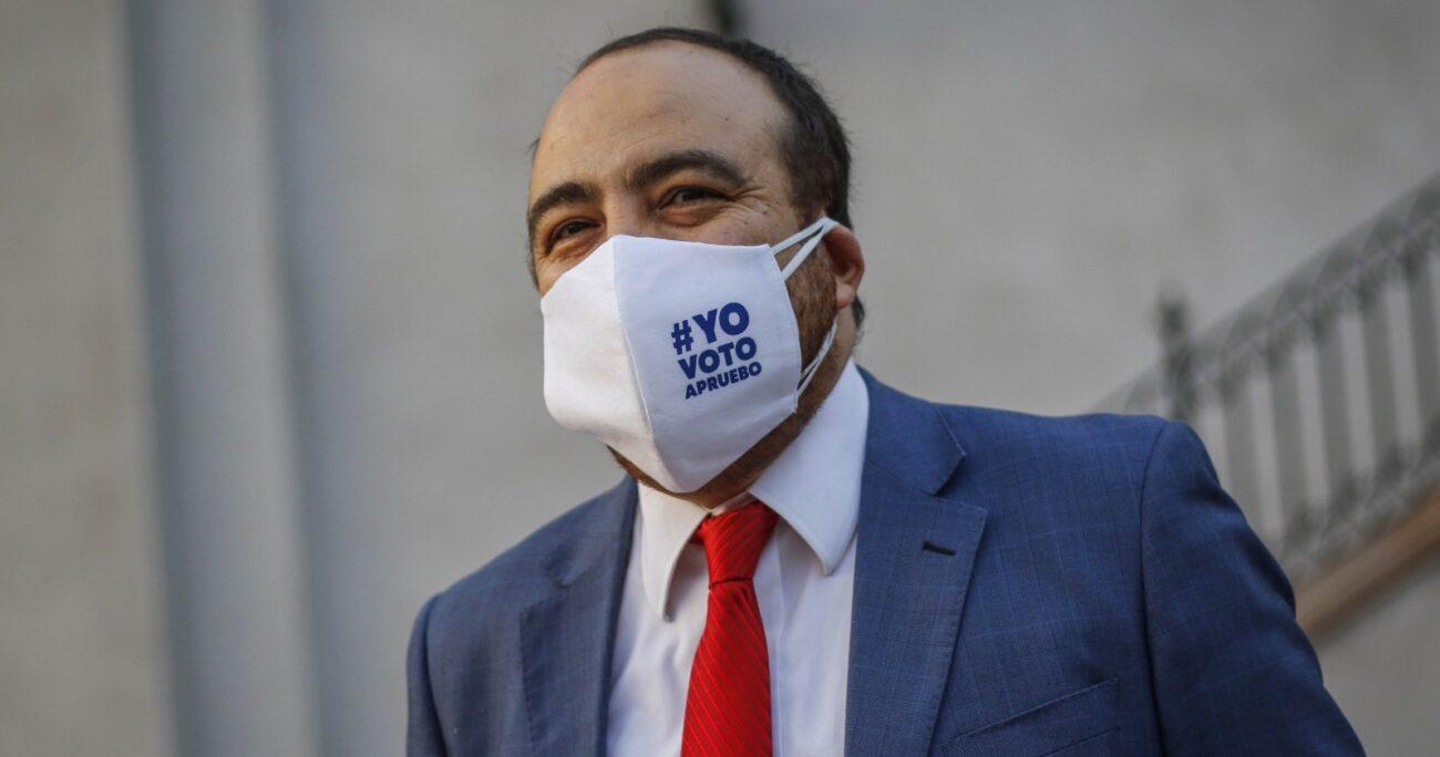 El senador Francisco Huenchumilla pidió la renuncia de Fuad Chahín y el resto de la mesa directiva. AGENCIA UNO/ARCHIVO