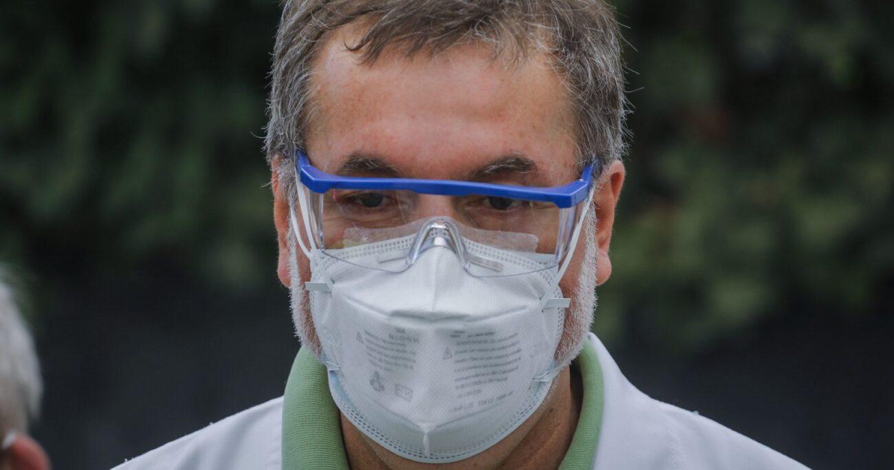 El dirigente aseguró que el gremio seguirá colaborando en el combate a la pandemia. AGENCIA UNO/ARCHIVO