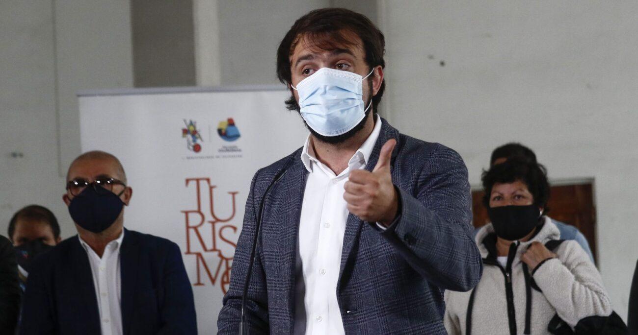 Dado que Jorge Sharp es candidato independiente, no recibe aportes de los partidos políticos. AGENCIA UNO/ARCHIVO