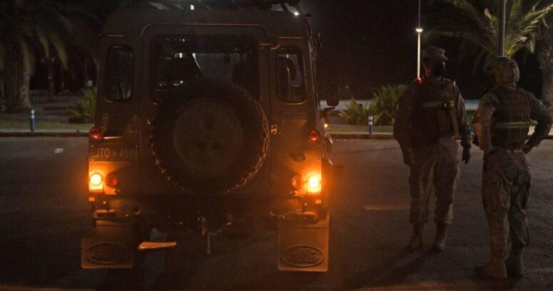"""""""Los dieron de baja: formalizan a dos militares que dispararon en estado de ebriedad en Recoleta"""""""