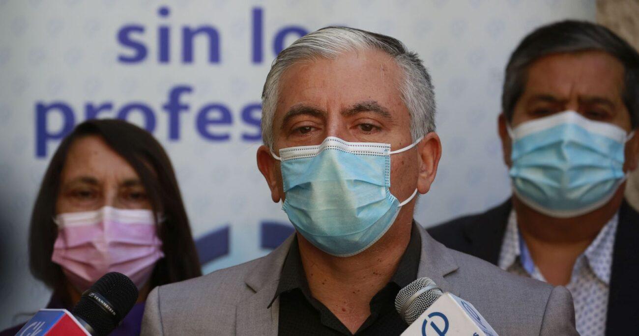 El magisterio acusó a la autoridad de hacer un chantaje en contra de los municipios. AGENCIA UNO/ARCHIVO
