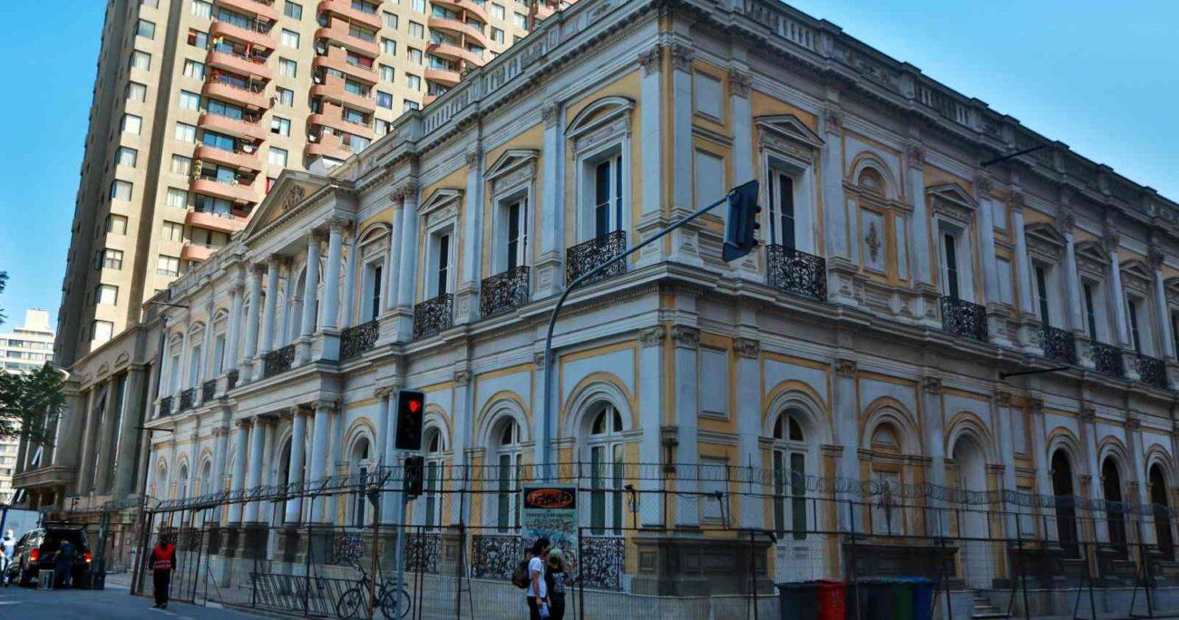 El Palacio Pereira será la sede de la Convención Constitucional. AGENCIA UNO/ARCHIVO