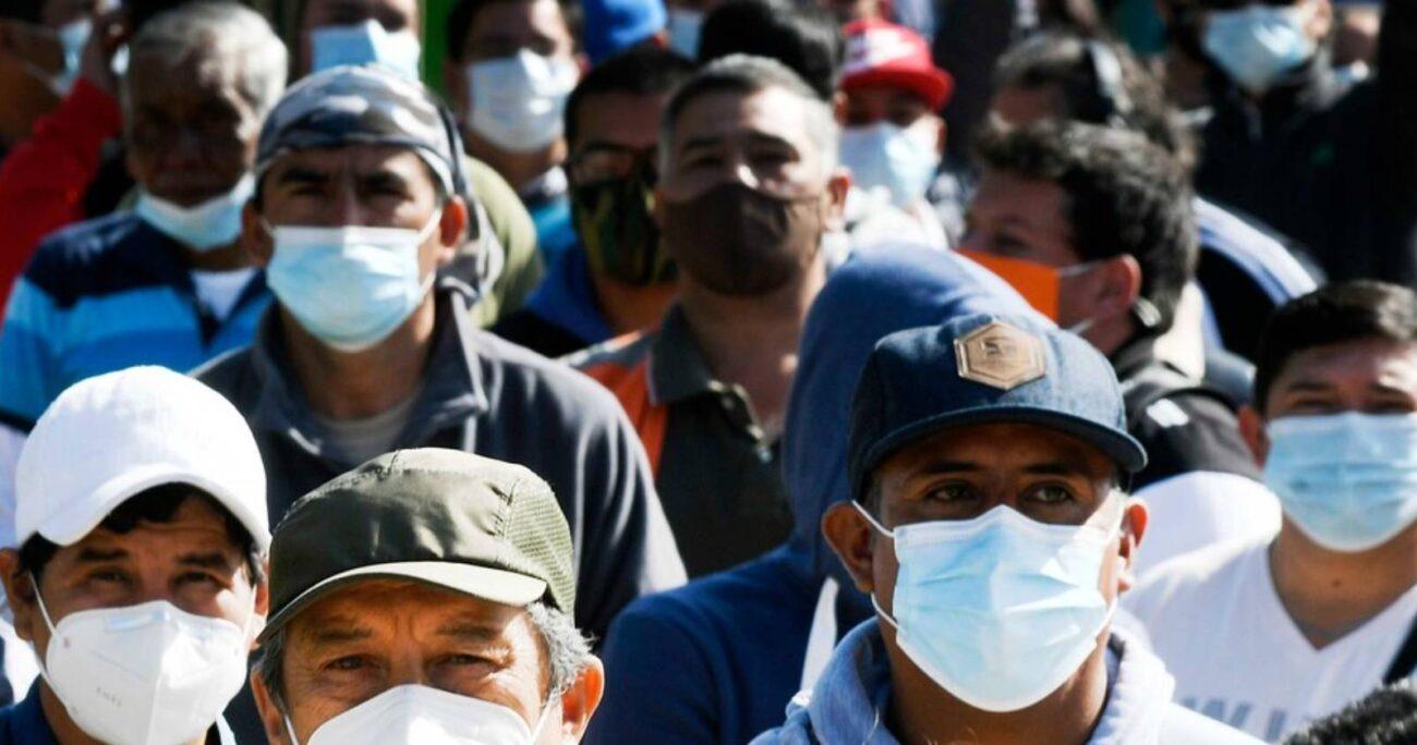 India registra 22.662.575 de casos de coronavirus. AGENCIA UNO/ARCHIVO