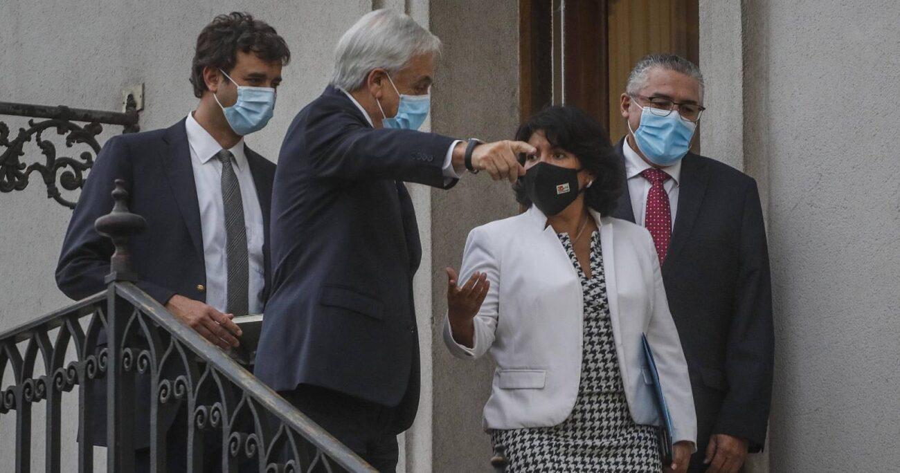 La legisladora se reunió con el mandatario en La Moneda, al igual que la mesa directiva de la Cámara de Diputados. AGENCIA UNO/ARCHIVO
