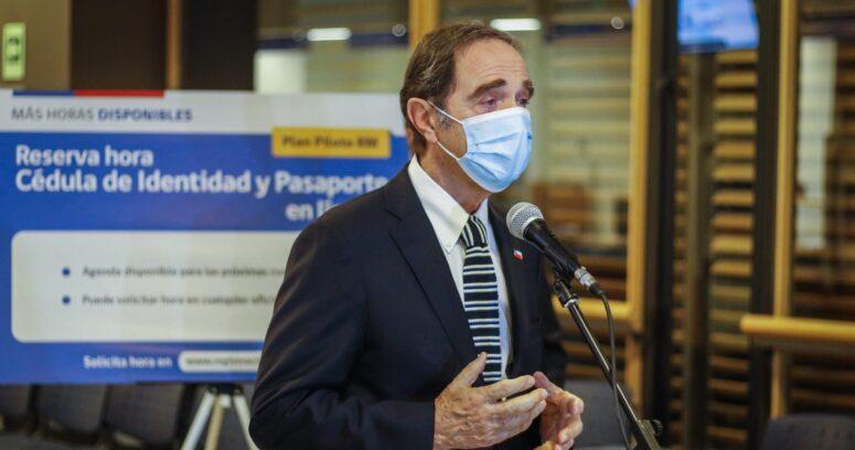 Ministro Larraín valora revisión de causas archivadas de derechos humanos y reconoce falta de eficacia