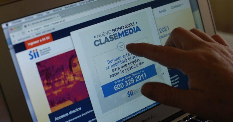 """""""SII: más de 1,8 millones de personas solicitaron el Bono Clase Media"""""""