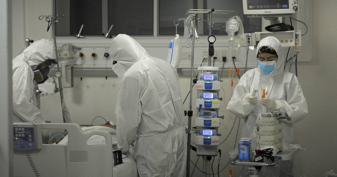El organismo alertó por el cansancio que están sufriendo los equipos de salud. AGENCIA UNO/ARCHIVO