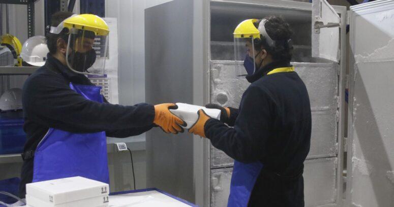 Chile recibió nuevo cargamento con 270 mil vacunas de Pfizer
