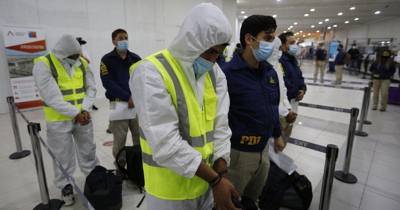 El organismo indicó que cuenta con antecedentes que apuntan a detenciones masivas en Santiago, Calama y Los Ángeles. AGENCIA UNO/ARCHIVO