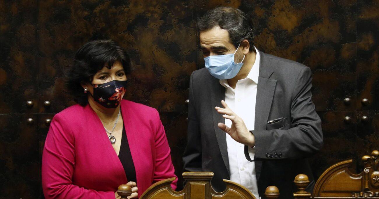 Quintana destacó el rol de la presidenta del Senado en la unidad opositora. AGENCIA UNO/ARCHIVO