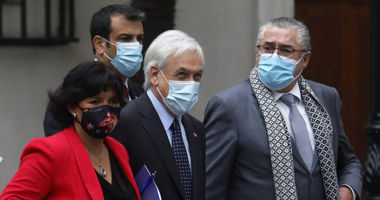 La propuesta de oposición es presentada al Gobierno por Provoste y Pizarro. AGENCIA UNO/ARCHIVO