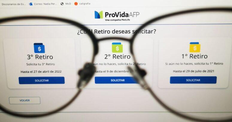 """""""AFP Provida iniciará hoy los primeros pagos del tercer retiro"""""""