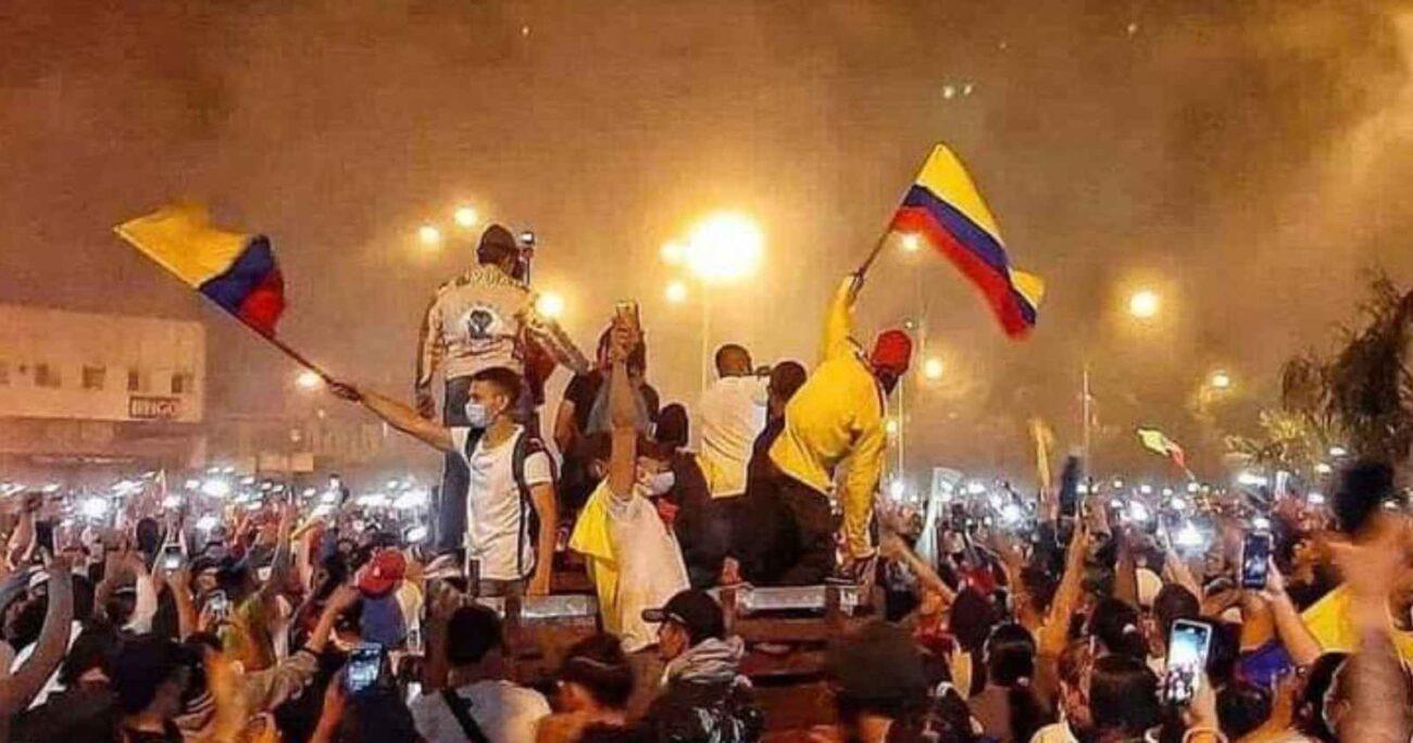 """La Unión Europea hizo un llamado al cese de la violencia y al """"uso desproporcionado de la fuerza"""" contra los manifestantes en Colombia. AGENCIA UNO/ARCHIVO"""