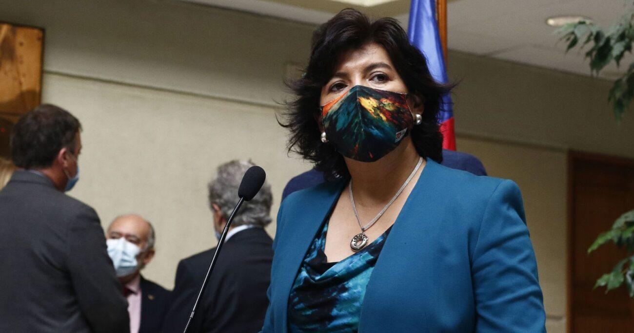 La legisladora respondió a las críticas por su diálogo con el Ejecutivo. AGENCIA UNO