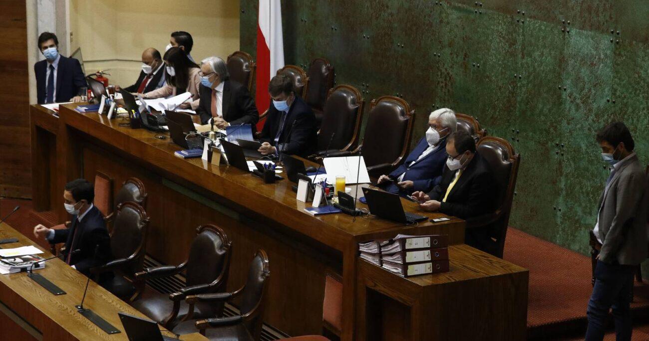 El diputado Diego Schalper (RN) solicitó reserva de constitucionalidad. AGENCIA UNO