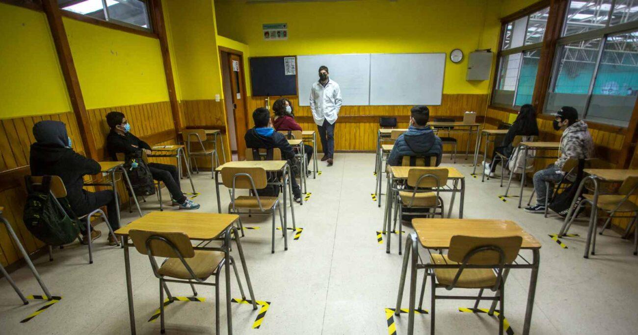Uno de los mecanismos propuestos es modificar la fórmula de cálculo y migrar desde una subvención por alumno dependiente de la asistencia a una basada en la matrícula. AGENCIA UNO/ARCHIVO