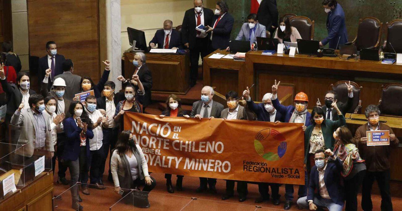 Uno de los proyectos en esta línea es el del royalty minero, el cual ya fue aprobado por la Cámara de Diputados. AGENCIA UNO/ARCHIVO