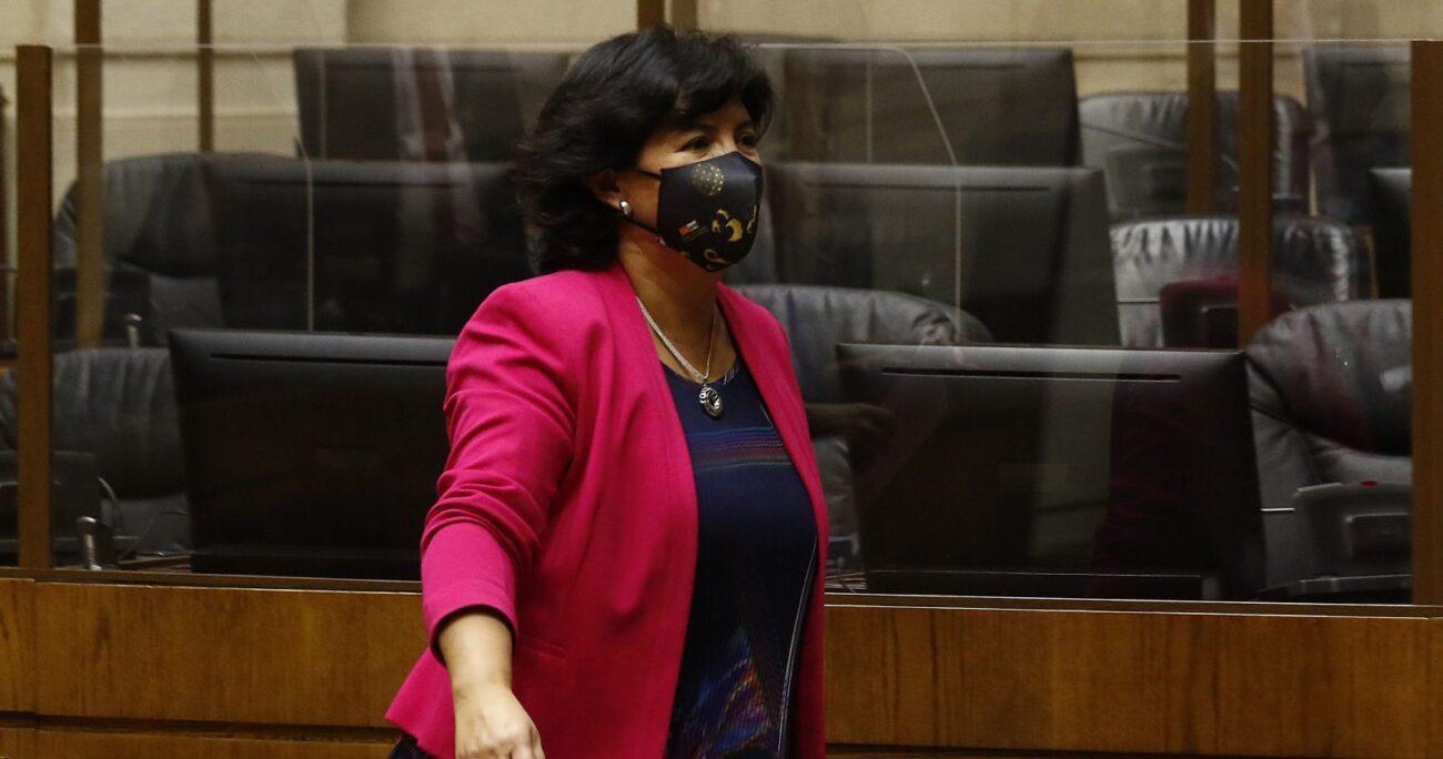 La senadora aún podría ser la nueva abanderada presidencial de la DC. AGENCIA UNO/ARCHIVO