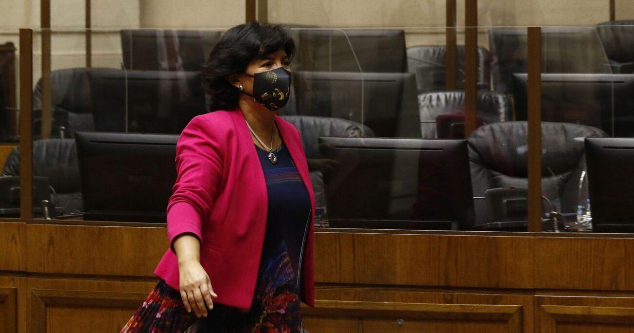 La legisladora apuntó al precio del cobre el endeudamiento y la reasignación presupuestaria como fuentes de financiamiento. AGENCIA UNO  ARCHIVO