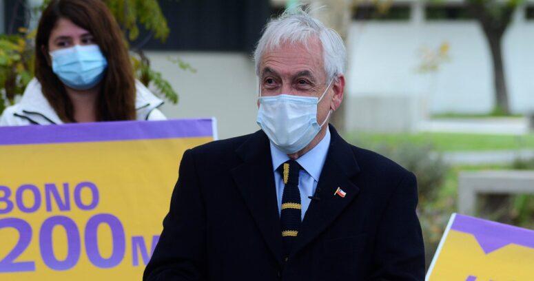 Presidente Piñera promulga ley de bono que entrega hasta $200 mil a afiliados de AFP