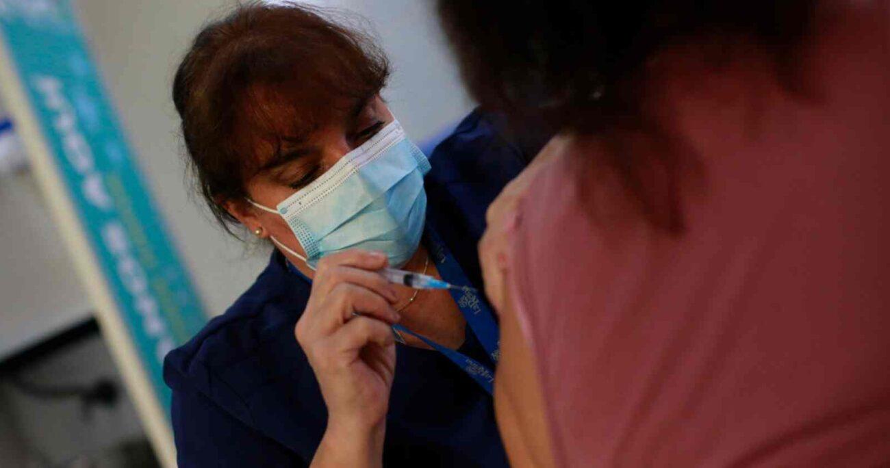Las dosis estaban disponibles con restricciones de edad, condición médica o profesión. AGENCIA UNO/ARCHIVO