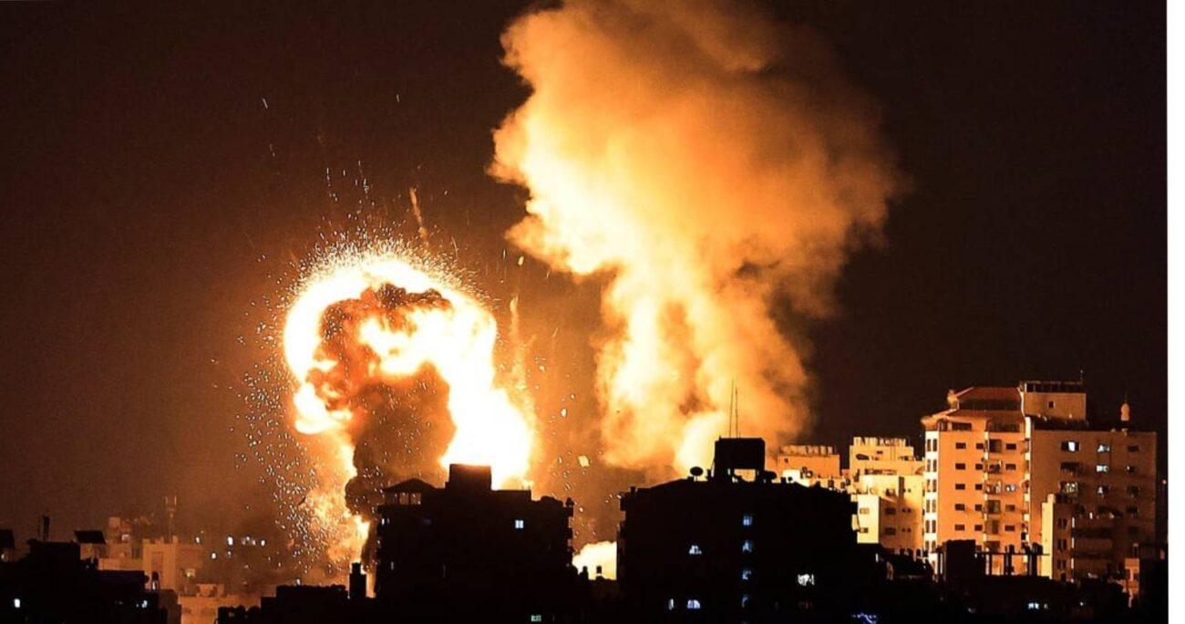 Esta escalada ha sido de mayor intensidad, mostrando que los proyectiles de Hamás son ahora capaces de alcanzar gran parte del territorio israelí. AGENCIA UNO/ARCHIVO