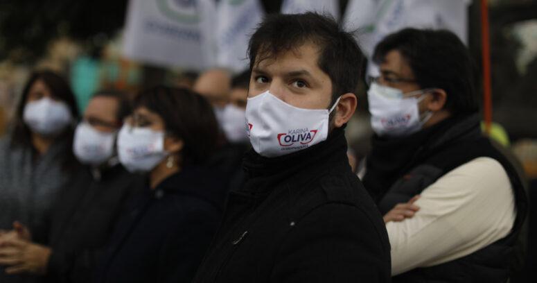 """Boric afirma que elecciones pueden ser una salida para la """"crisis"""" en Chile"""
