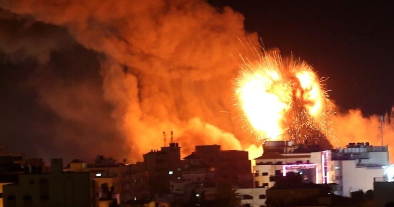 Hasta ahora, los ataques han dejado 109 palestinos muertos en la Franja, así como siete personas muertas en Israel. AGENCIA UNO/ EUROPA PRESS