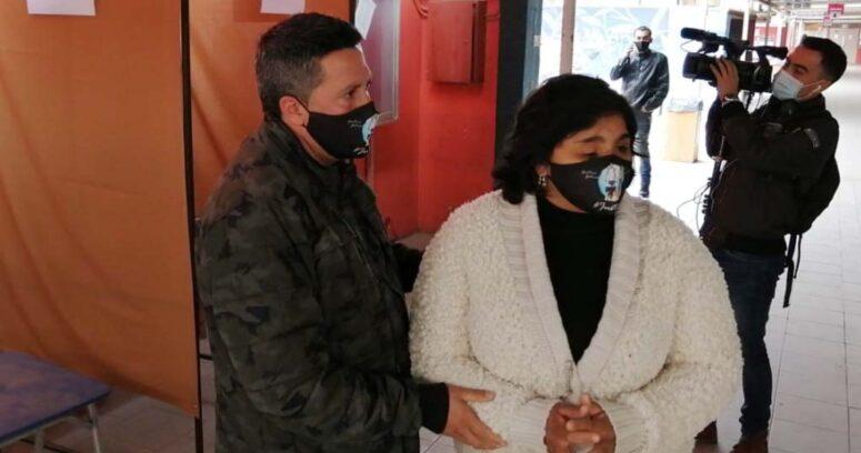 """Fabiola Campillai pidió ir a votar para que lucha en las calles """"no sea en vano"""""""