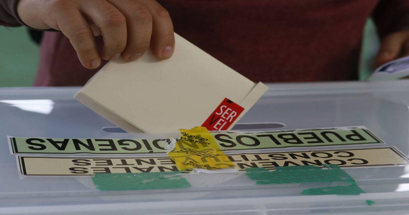 Cada distrito del país eligió distinto número de constituyentes que serán parte de la Convención. AGENCIA UNO.