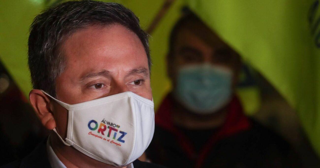 Álvaro Ortiz ejerce como alcalde de Concepción desde 2012. AGENCIA UNO
