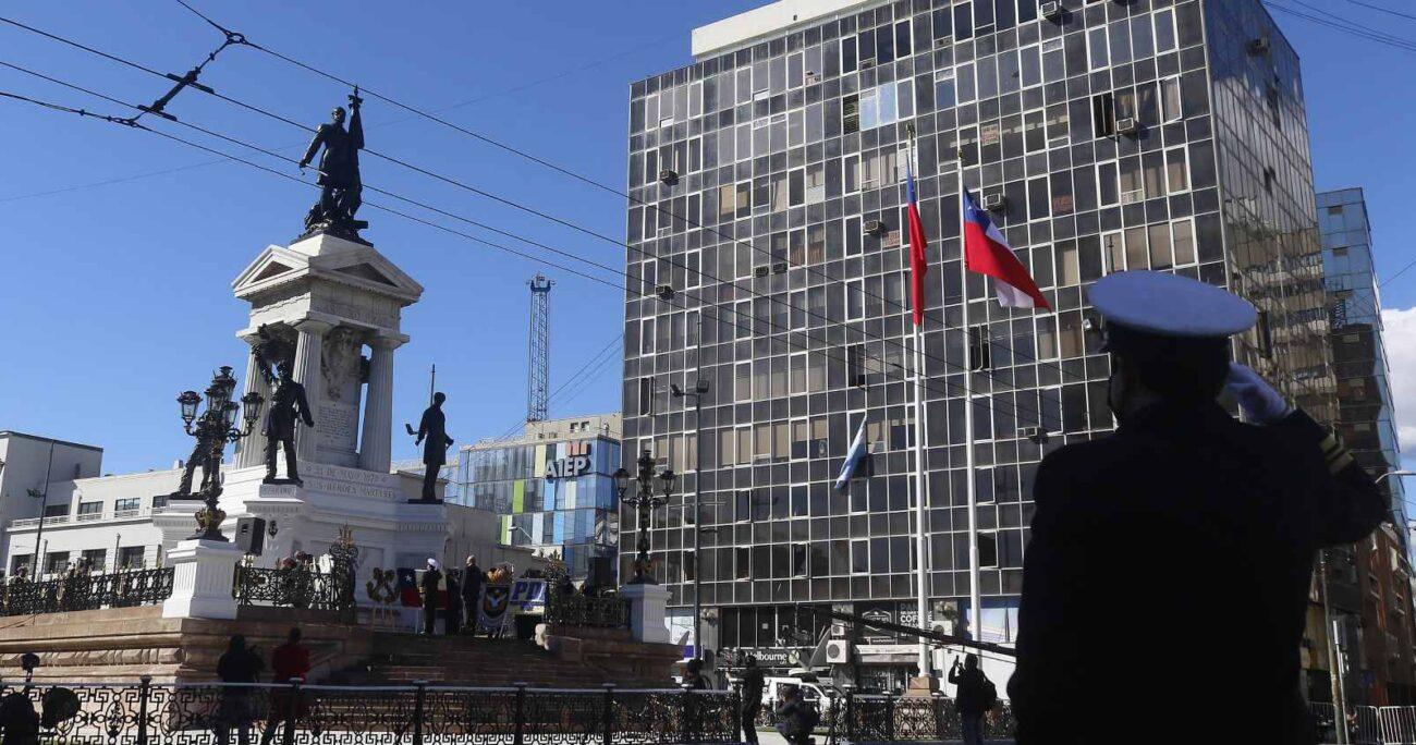El presidente Piñera siguió la actividad vía telemática. AGENCIA UNO