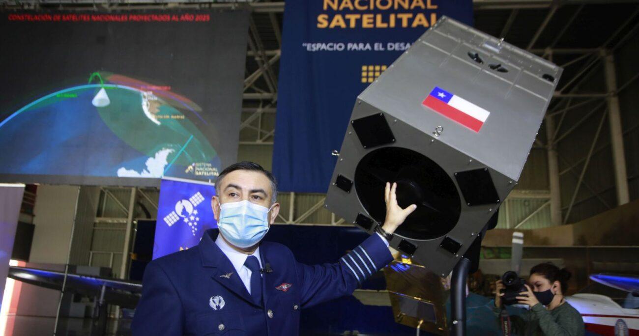 La mayoría de los satélites serán fabricados en Chile. AGENCIA UNO/ARCHIVO