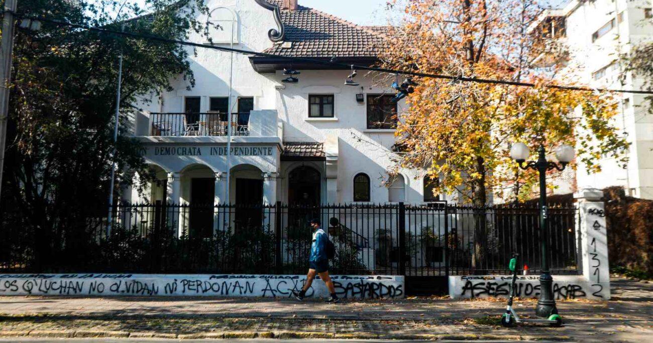 La sede de la UDI tras el ataque del domingo. AGENCIA UNO/ARCHIVO
