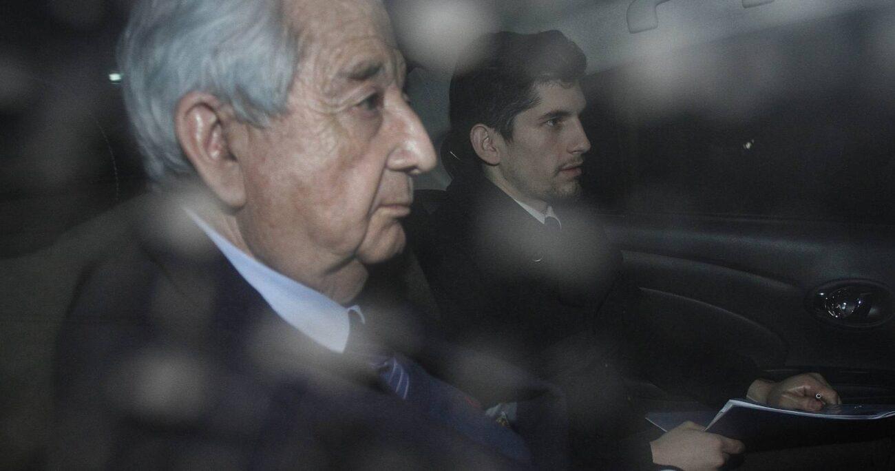Fernando Torres Silva se entregó a la PDI el año 2015 y fue condenado a 10 años y 1 día por el crimen de Eugenio Berríos. AGENCIA UNO/ARCHIVO