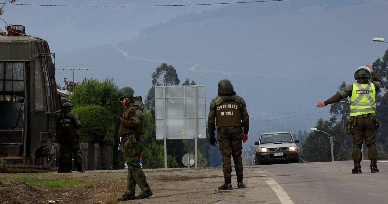 El trabajo que llevará a cabo Carabineros en Tirúa será diferenciado al resto de las comunas de la provincia de Arauco. AGENCIA UNO/ARCHIVO