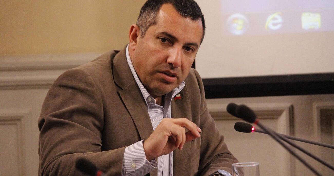 En 2020 el empresario Bruno Fulgeri acusó a denunció que Hasbún le pidió apoyo económico a cambio de realizar gestiones con el entonces subsecretario y actual ministro Lucas Palacios. AGENCIA UNO/ARCHIVO