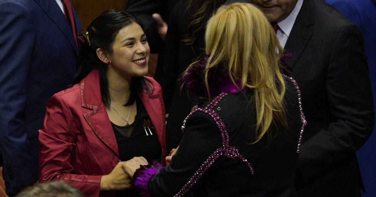 La diputada Jiles pidió votar por su pareja Pablo Maltés como gobernador. AGENCIA UNO/ARCHIVO