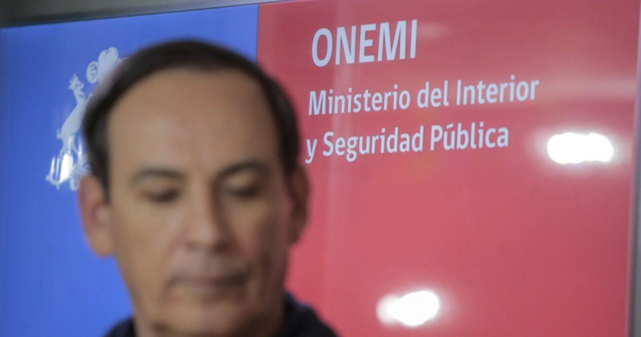 Onemi activó a las 23:01 horas el sistema SAE, instando a los vecinos del sector a ubicarse en sectores alejados de las quebradas. AGENCIA UNO/ARCHIVO