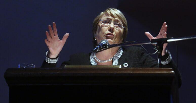 """Michelle Bachelet y elecciones: """"Miro con esperanza lo que sucederá en mi país"""""""
