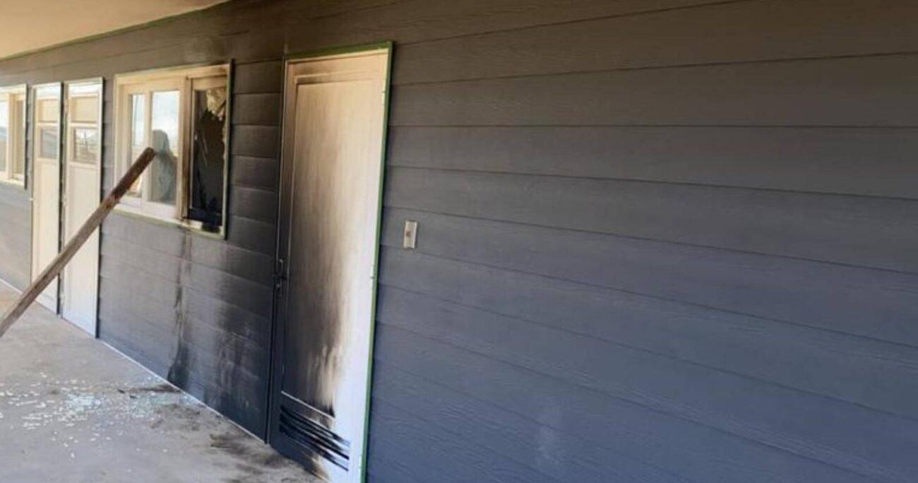 Esta vez el incendio no consumió la totalidad del recinto, pero sí dañó su infraestructura. ESCUELA