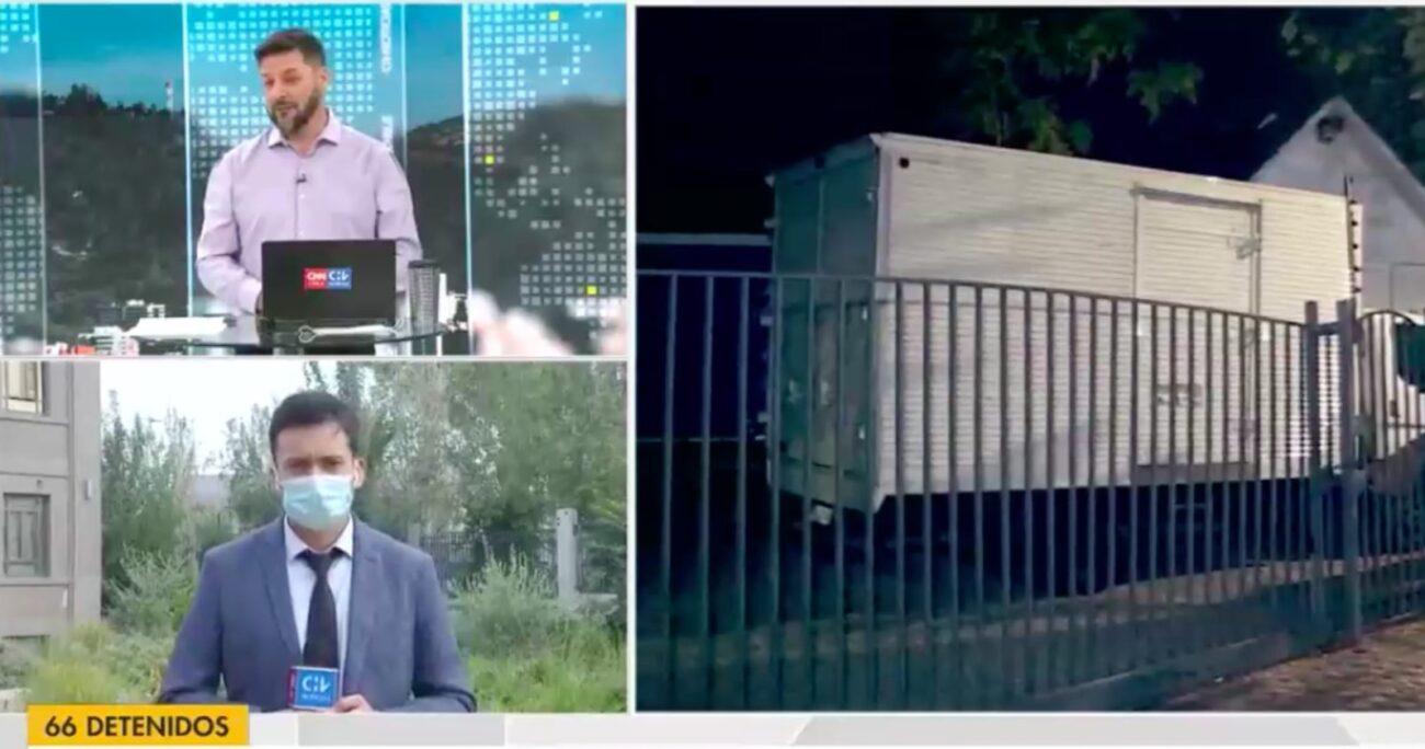 El periodista emitió sus declaraciones durante el noticiero de Chilevisión.
