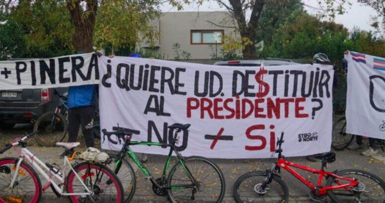 """""""Fail de ciclistas: vandalizan casa en Vitacura creyendo que era la de Melero"""""""