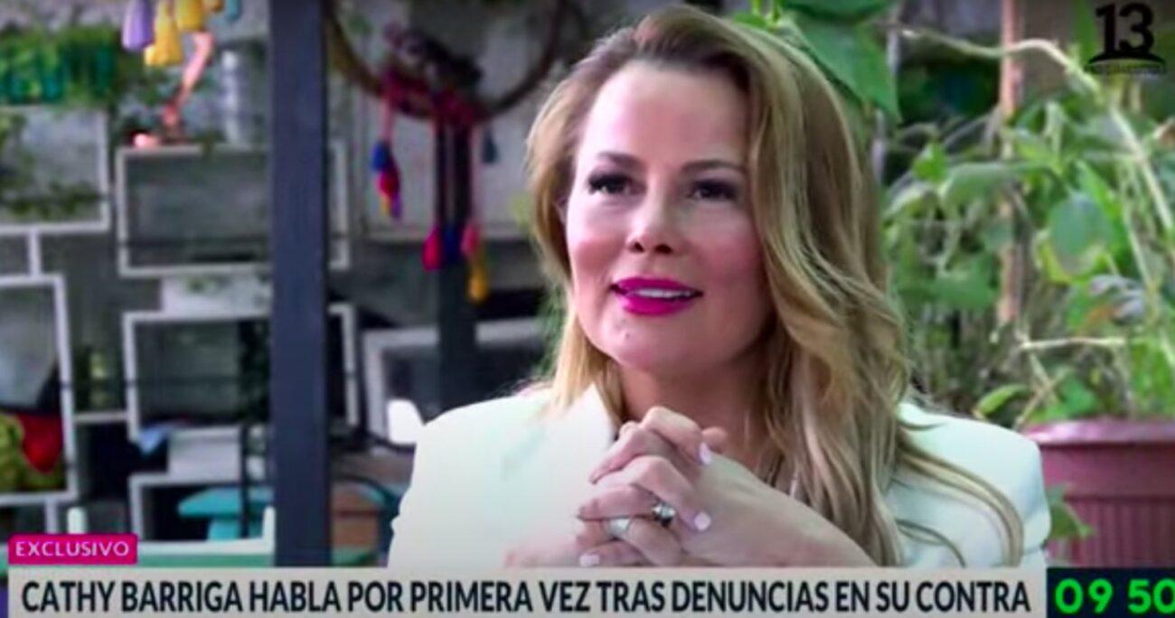 Barriga abordó la denuncia en entrevista con Bienvenidos de Canal 13.